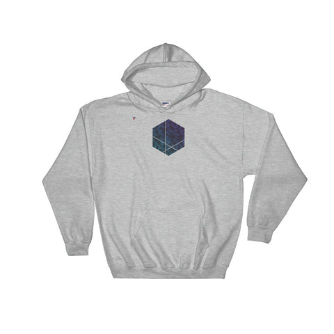 Minimal Hexagon Hooded Sweatshirt