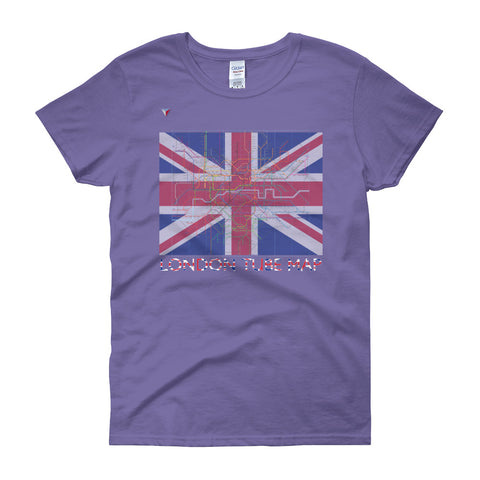 London Metro Map Women's short sleeve t-shirt