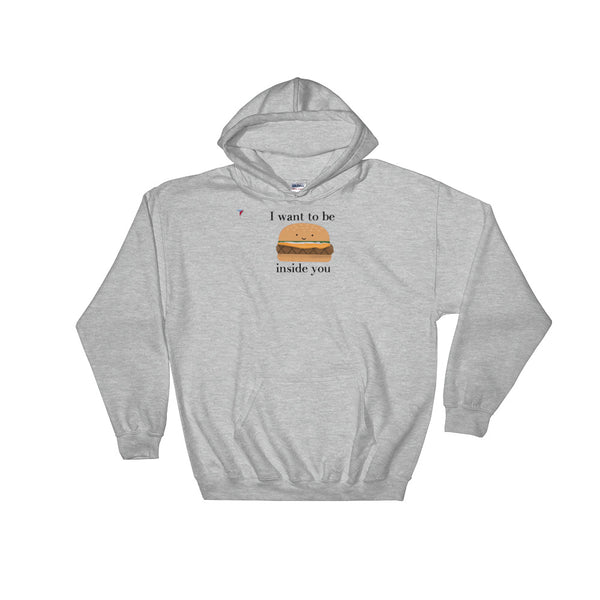 Burger Hooded Sweatshirt