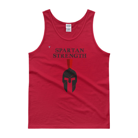 SpartanStrengthHead - B Tank top