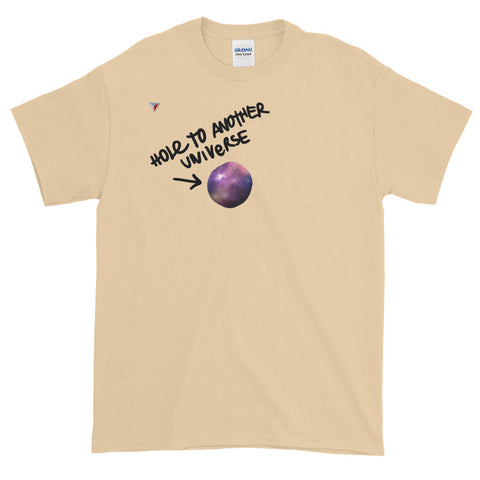 Hole to another universe Short-Sleeve T-Shirt
