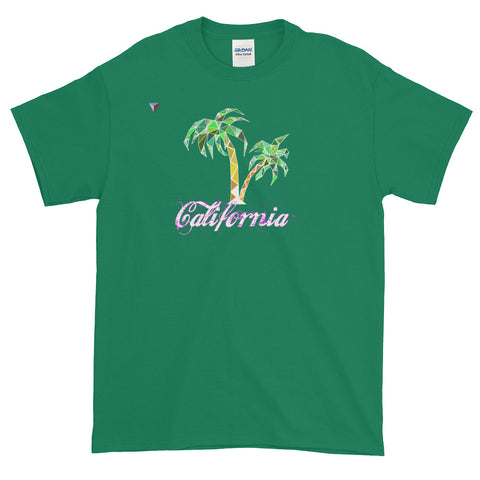 California Palm Tree Short-Sleeve T-Shirt