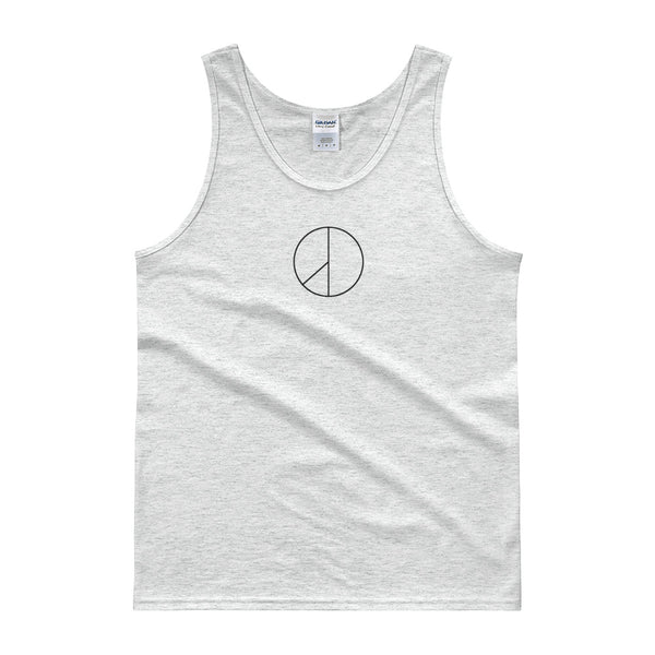 PEACE MINUS ONE Black Logo Tank top