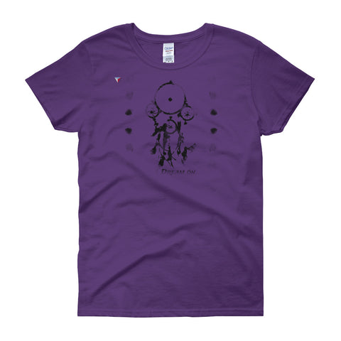 Rorschach Dreamcatcher Women's short sleeve t-shirt