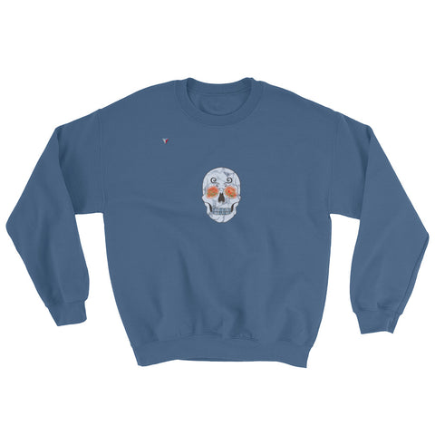 Nature Skull Heavy Blend Crewneck Sweatshirt