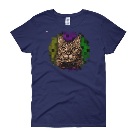 Fancy Cat Women's short sleeve t-shirt