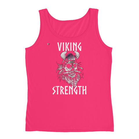 Viking Strength Skull Ladies' Tank