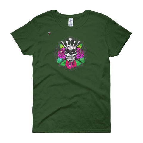 SkullCrown Women's short sleeve t-shirt