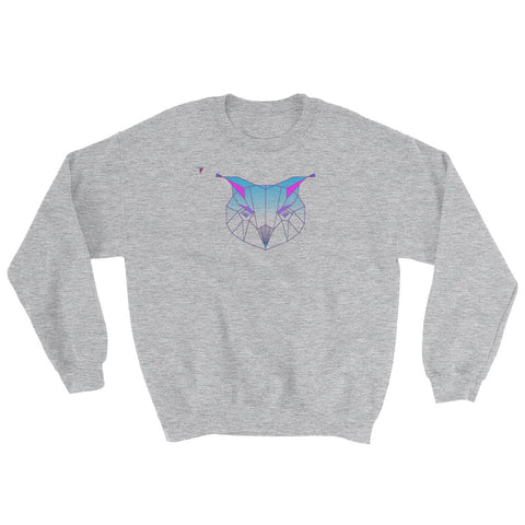 Polygon Owl Heavy Blend Crewneck Sweatshirt