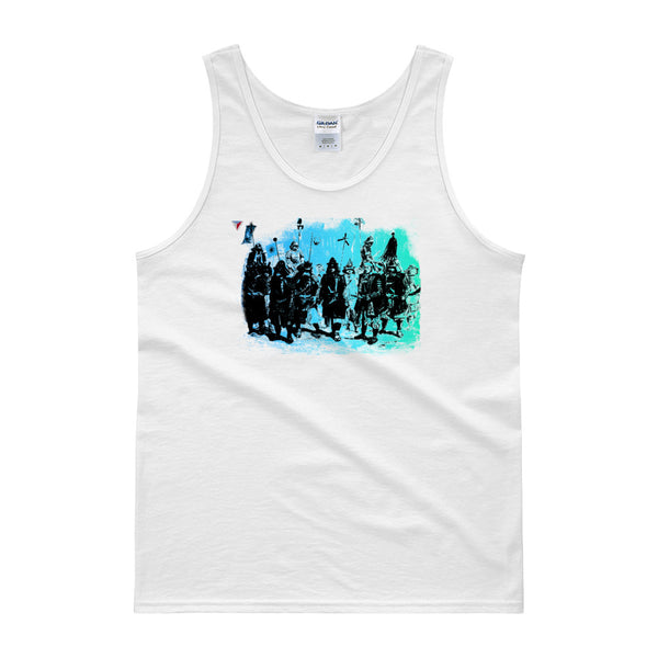 Japanese Samurai Warriors Tank top