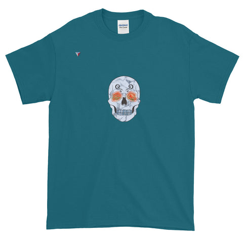 Nature Skull Short-Sleeve T-Shirt