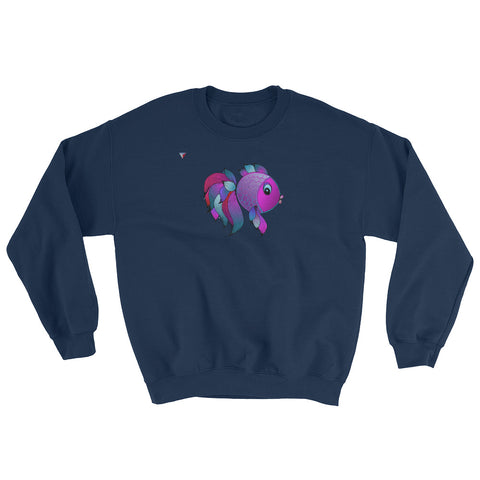 Fishie Heavy Blend Crewneck Sweatshirt