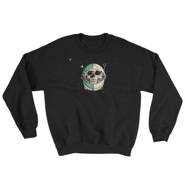 SpaceSkull Heavy Blend Crewneck Sweatshirt