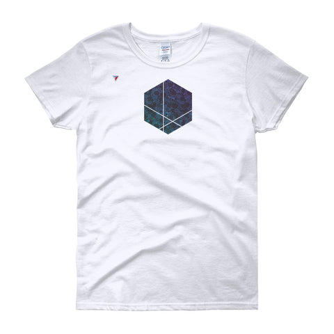 Minimal Hexagon Women's short sleeve t-shirt