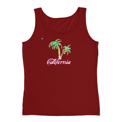 California Palm Tree Ladies' Tank