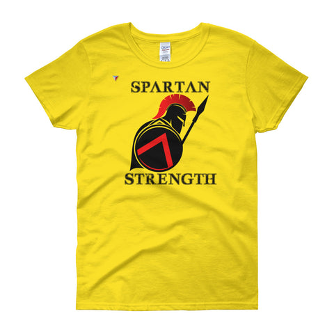 SpartanStrengthSide - B Women's short sleeve t-shirt