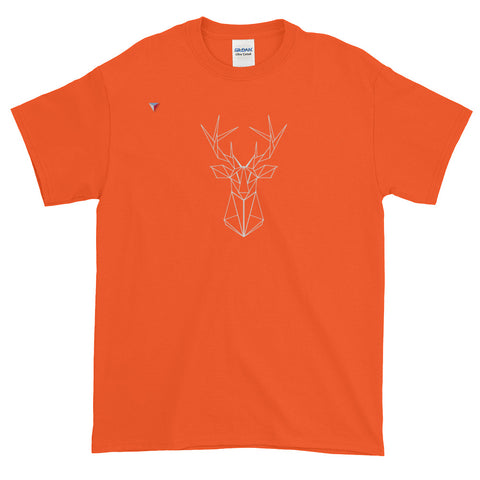 Grey Deer Short-Sleeve T-Shirt