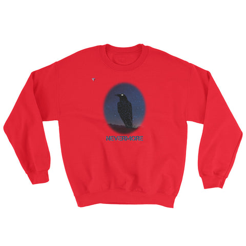 Raven Nevermore Heavy Blend Crewneck Sweatshirt