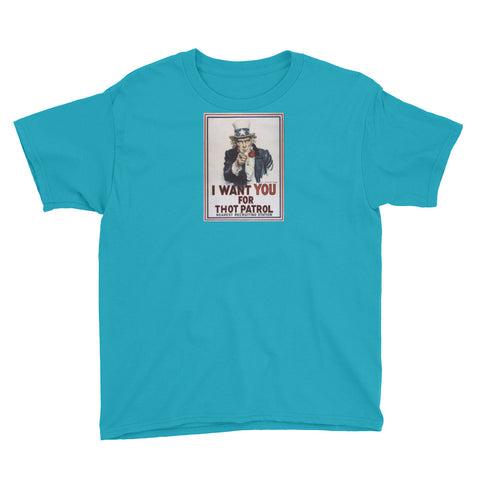THOT Youth Short Sleeve T-Shirt