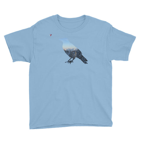 Mountain Raven Youth Short Sleeve T-Shirt