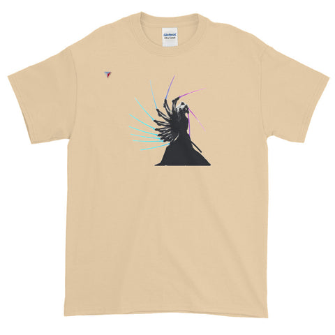 Samurai In Motion Short-Sleeve T-Shirt