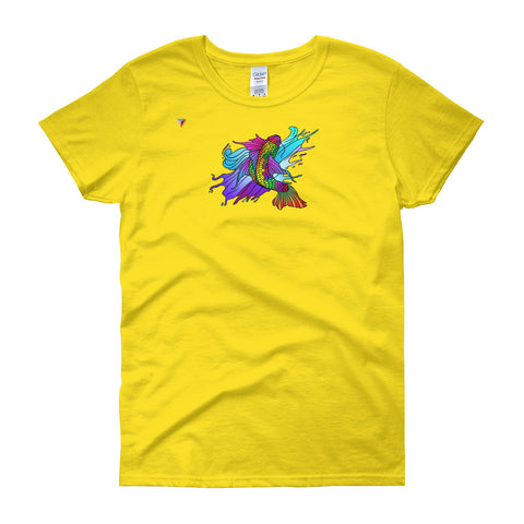 Rainbow Koi Carp Women's short sleeve t-shirt