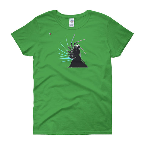 Samurai In Motion Women's short sleeve t-shirt