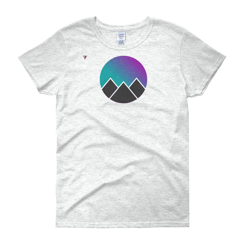 Vaporwave Pyramids Women's short sleeve t-shirt