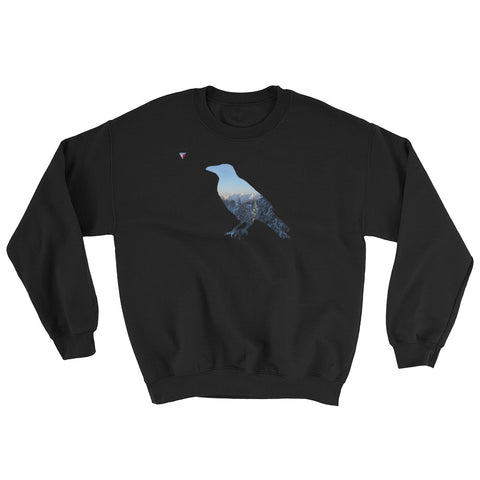Mountain Raven Heavy Blend Crewneck Sweatshirt