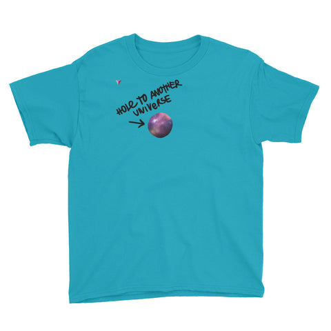 Hole to another universe Youth Short Sleeve T-Shirt