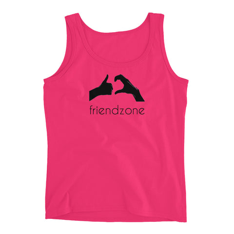 Friendzone Black Ladies' Tank