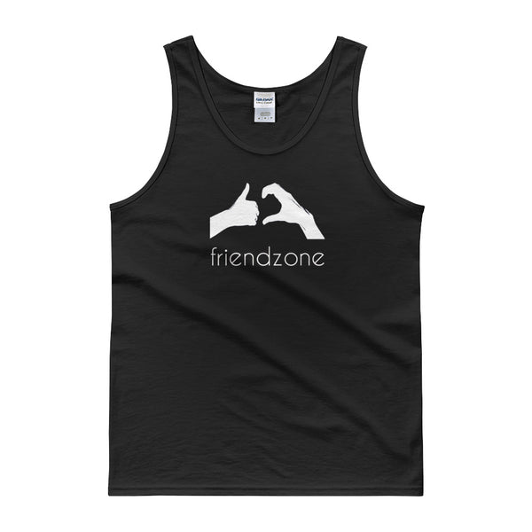 Friendzone White Tank top