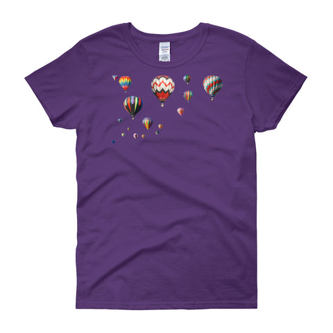 Balloon Fun Women's short sleeve t-shirt