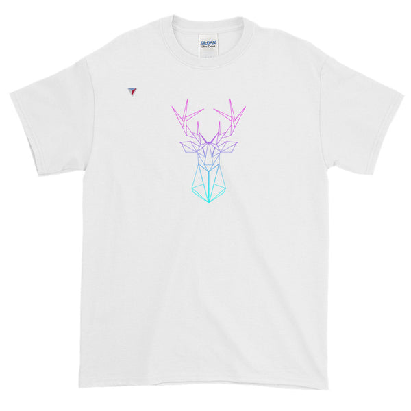 Neon Deer Short-Sleeve T-Shirt