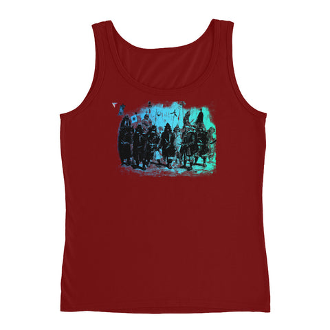 Japanese Samurai Warriors  Ladies' Tank