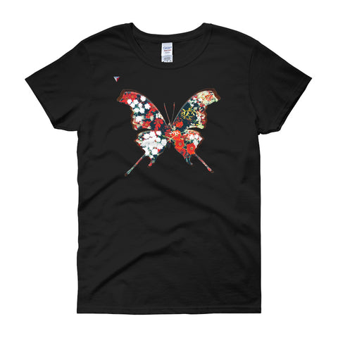 FunkButterfly Women's short sleeve t-shirt