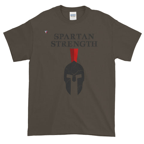 SpartanStrengthHead - B Short-Sleeve T-Shirt
