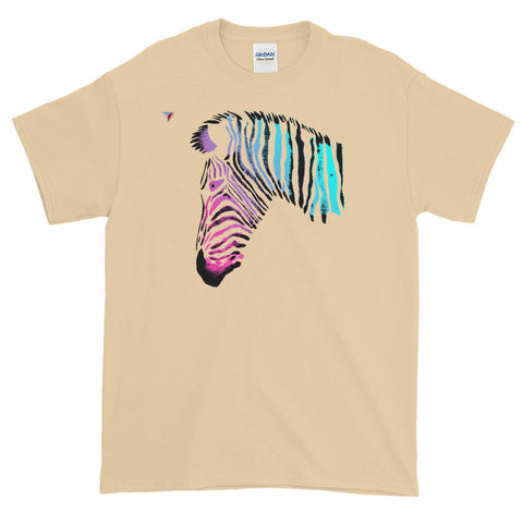 Neon Zebra Short-Sleeve T-Shirt