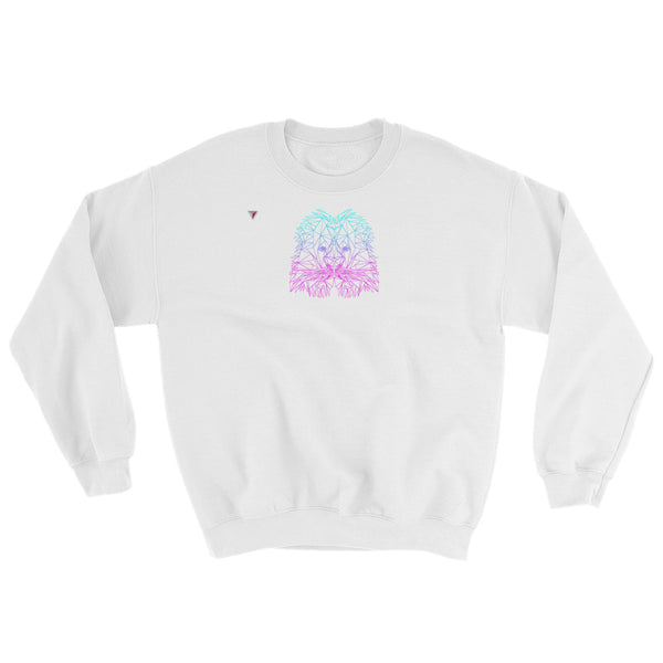 Polygon Neon Lion Heavy Blend Crewneck Sweatshirt
