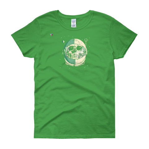 SpaceSkull Women's short sleeve t-shirt