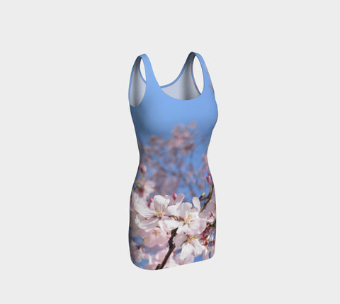 Cherry Blossom Bodycon Dress