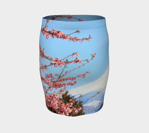 Mount Fuji Fitted Skirt