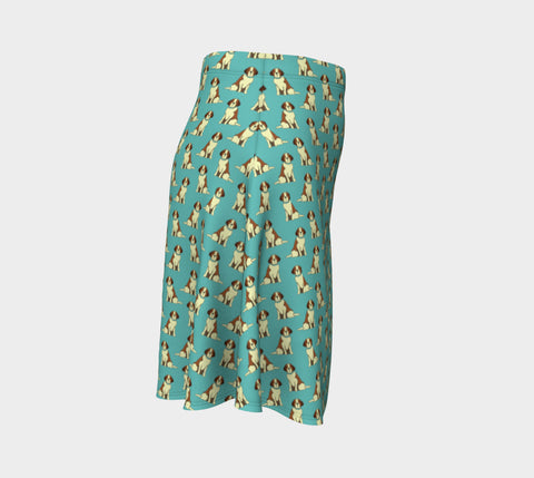 Saint Bernards Flare Skirt