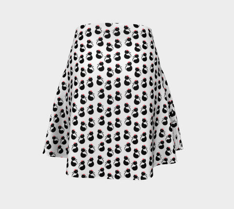 Cool Cats Flare Skirt