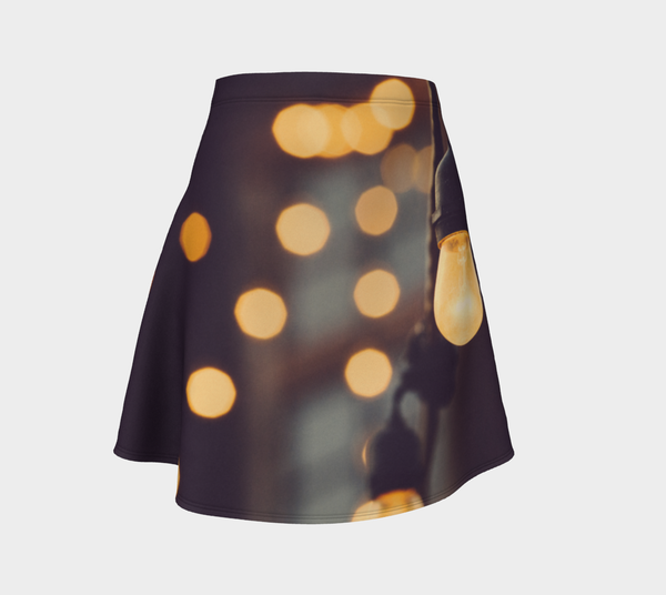 Lightbulbs Flare Skirt