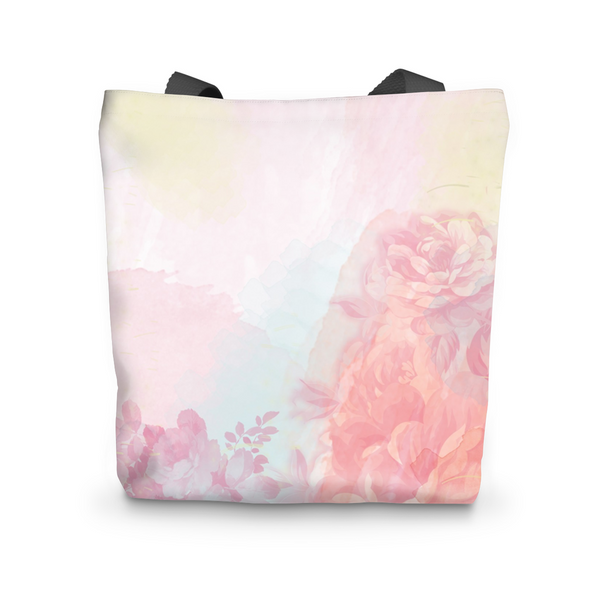 Pink Spring Rose Tote Bag