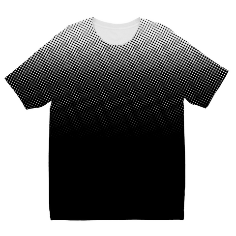 White dots Kids Sublimation T-Shirt