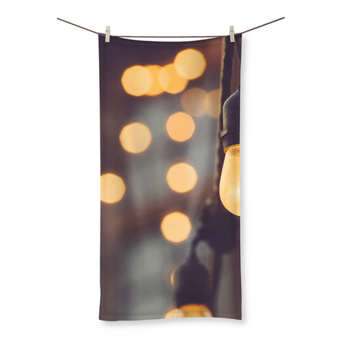 Paris Lights Beach Towel