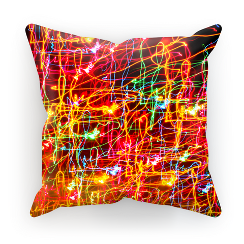 City Lights Pillow