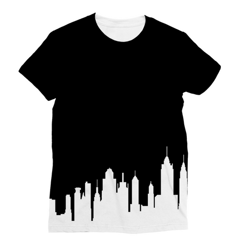 New York Skyline Unisex Sublimation T-Shirt